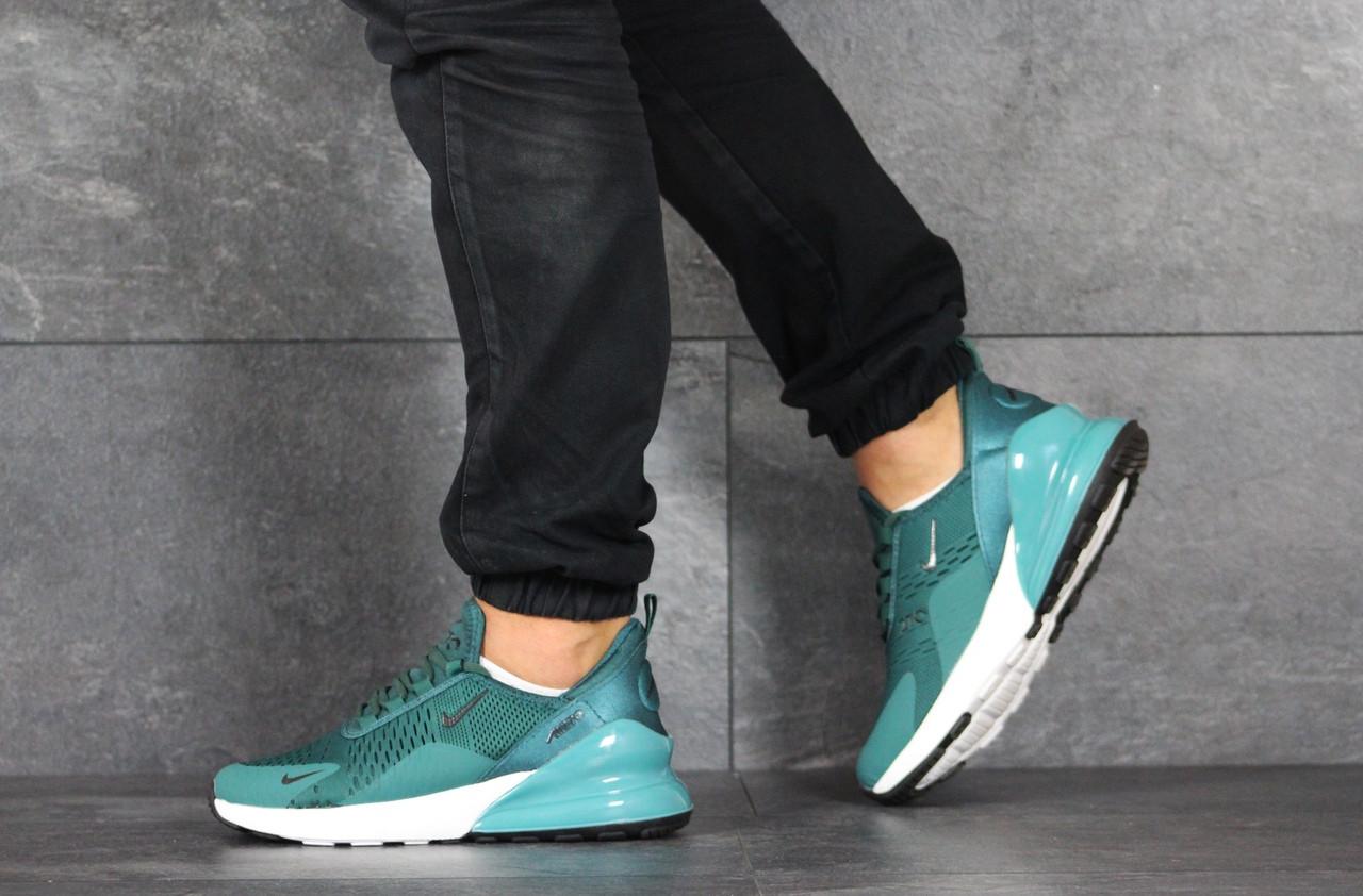 Мужские летние кроссовки Nike Air Max 270,бирюзовые 41,46р