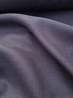 Льняная костюмная ткань темно- серого цвета, фото 1