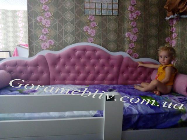 На фото: детская кровать Л-6, фото наших покупателей