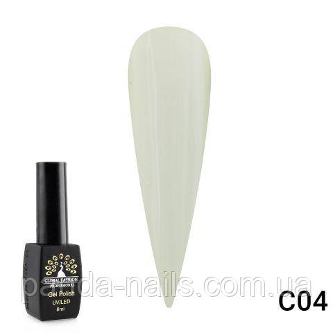 "Гель лак Global Fashion 8 ml ""SHIBUYA"" C04"