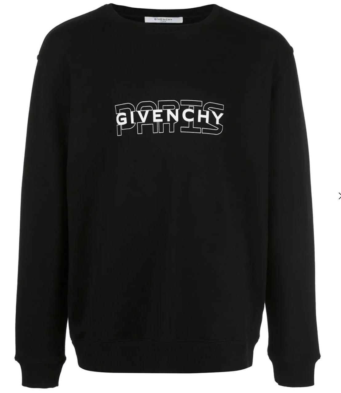 Свитшот мужской с принтом Givenchy Paris | Кофта