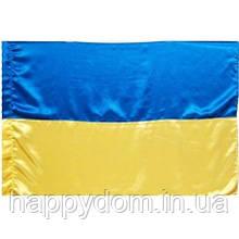 Флаг Украины атласный