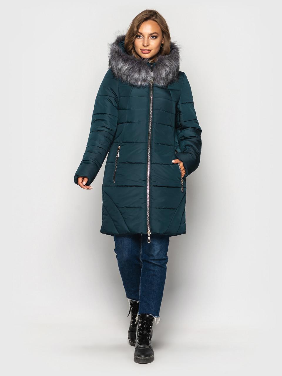 Зимняя куртка больших размеров К 0077 с 03
