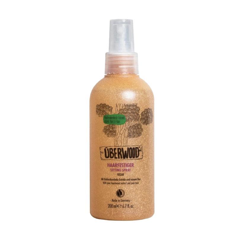 Спрей для укладки волос фиксирующий ÜBERWOOD®, 200 мл