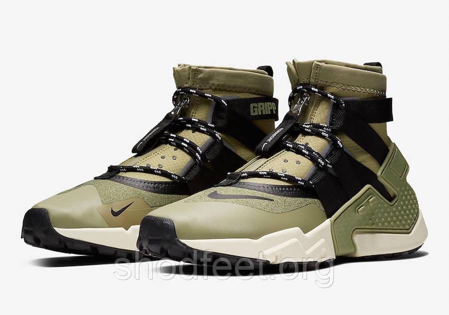 Кроссовки Nike Air Huarache Gripp Olive