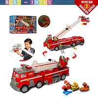 Детский набор пожарного транспорта 21251