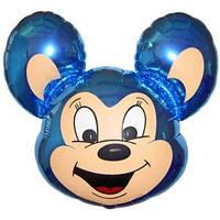 Фольгированный шар Мышонок 68см х 48см Голубой