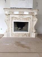 Эксклюзивный каминный комплекс из мрамора, фото 1