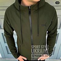 Куртка мужская весенняя Puma Soft Shell🧗🚵🚴⛷️🏂🏄🏄