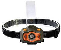 Налобный фонарь с датчиком движения 6603 XPE, фото 1