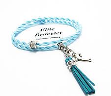 Браслет Блакитний шовк, фото 2