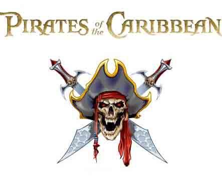 Временное тату с пиратом Пираты Карибского Моря