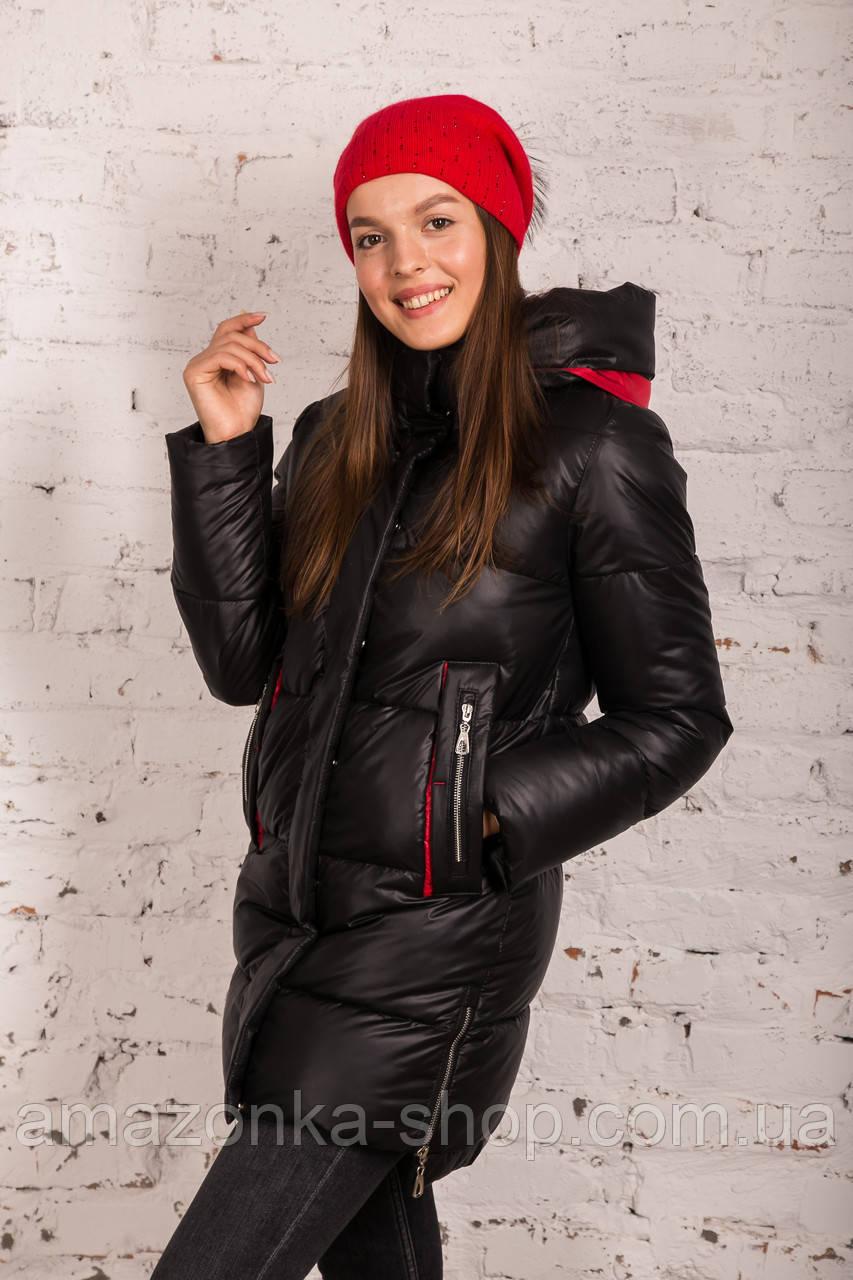 Женская куртка на зиму с экопухом сезон 2020 - (модель кт-691)