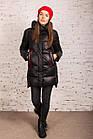 Женская куртка на зиму с экопухом сезон 2020 - (модель кт-691), фото 4