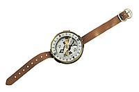 Компас наручный с кожаным браслетом