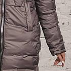 Модная куртка для женщин на зиму с экопухом сезон 2020 - (модель кт-692), фото 4