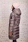 Модная куртка для женщин на зиму с экопухом сезон 2020 - (модель кт-692), фото 5
