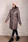 Модная куртка для женщин на зиму с экопухом сезон 2020 - (модель кт-692), фото 2