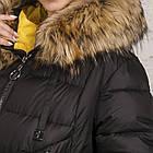 Куртка для женщин на зиму с экопухом сезон 2020 - (модель кт-697), фото 4