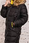 Куртка для женщин на зиму с экопухом сезон 2020 - (модель кт-697), фото 5