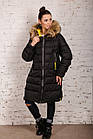 Куртка для женщин на зиму с экопухом сезон 2020 - (модель кт-697), фото 2