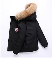 Куртка пуховик мужская зимняя натуральная ''Down Jacket'' (до -30 С)