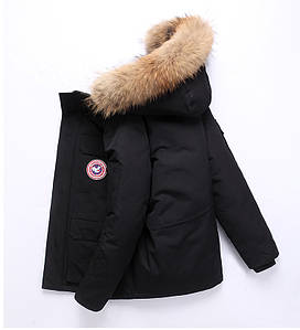 """Куртка пуховик чоловіча зимова натуральна """"Down Jacket"""" (до -30 С)"""