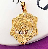 Кулон-ладанка Xuping.  Медицинское золото.