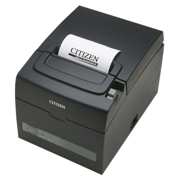 Принтер чеков CITIZEN CT-S310 II LAN (CTS310IIXEEBX) (USB+Ethernet), фото 1