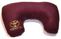"""Подушка рогалик """"Toyota"""""""