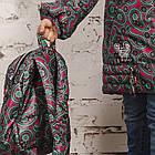 Зимнее пальто с рюкзачком для девочек - сезон 2019 - (модель КТ-554), фото 6