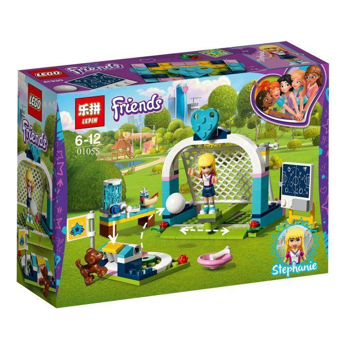 Lepin 01055 Футбольная тренировка Стефани Lego Friends 41330