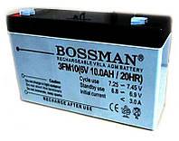Аккумуляторная батарея Bossman 6V 10Ah (3FM10)