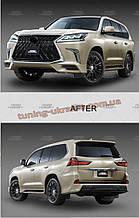 Комплект рестайлинга с модели 2008-2016гг. для Lexus LX570  2012-2015 год