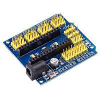 Плата розшиоення для Arduino nano I/O Extension Shield, фото 1