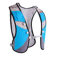 Рюкзак-жилет для бега, марафона, трейлраннинга Rimix Trail синий, фото 1