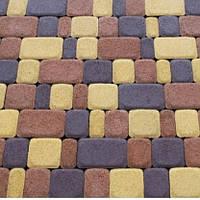 Плитка тротуарная Золотой мандарин Старый город