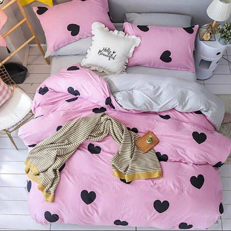 Двуспальный комплект постельного белья евро 200*220 хлопок  (12531) TM KRISPOL Украина, фото 2