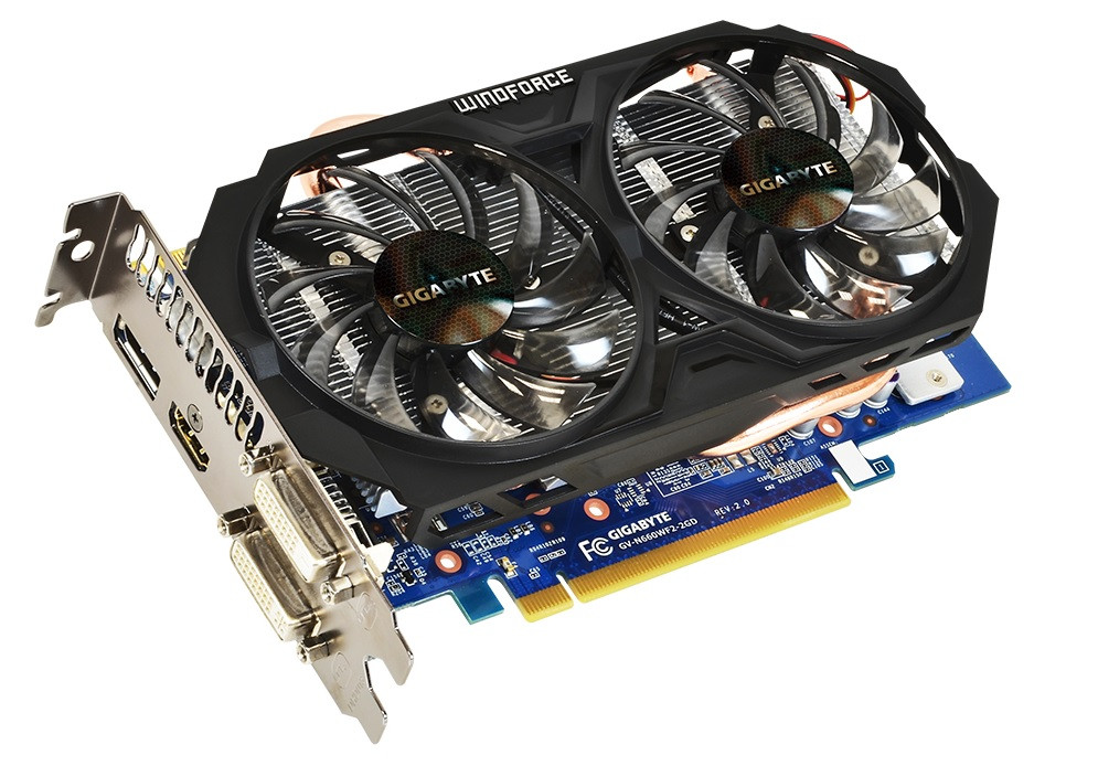 Gigabyte GeForce GTX660  2Gb GDDR5 GV-N660WF2-2GD  Гарантия 3 мес.