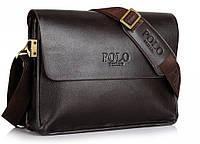 Мужская сумка POLO. Сумка через плечо. Сумка портфель. Мужская сумка ПОЛО. Мужские сумки., фото 1