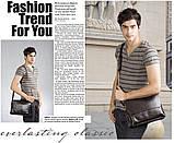 Мужская сумка POLO. Сумка через плечо. Сумка портфель. Мужская сумка ПОЛО. Мужские сумки., фото 8
