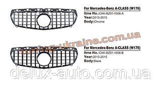 Передняя решетка Maybach на Mercedes A-klass W176 2012-2015 гг