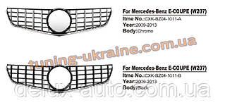 Передняя решетка Maybach на Mercedes E-klass coupe C207 2009-2013