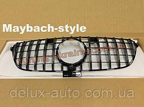 Тюнинг решетка радиатора (Maybach-style) на авто без камеры на Mercedes GLE coupe C292 2015+