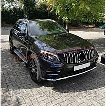 Тюнинг решетка радиатора (Maybach-style) на авто с местом под камеру на Mercedes GLE coupe C292 2015+