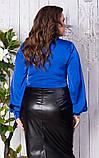 Блуза женская батал, фото 6