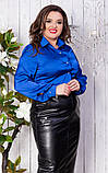 Блуза женская батал, фото 9