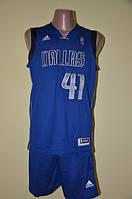 Баскетбольная форма команды Даллас Маверикс