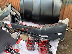 Передний бампер на Toyora Prado 150 2017+