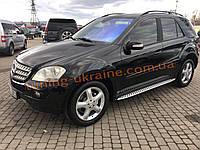ОРИГИНАЛЬНЫЕ Боковые пороги на Mercedes ML klass W164 2005-2011